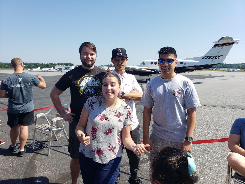 Intellisoft team pulls airplane for Ronald McDonald house charities