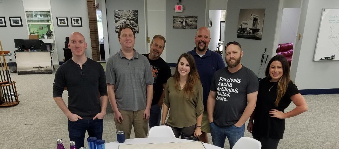 Picture of team wearing casual clothes in the office
